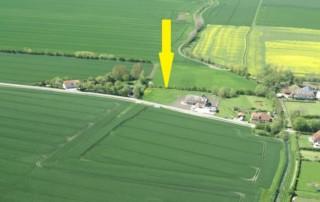 Luftbild von Osten